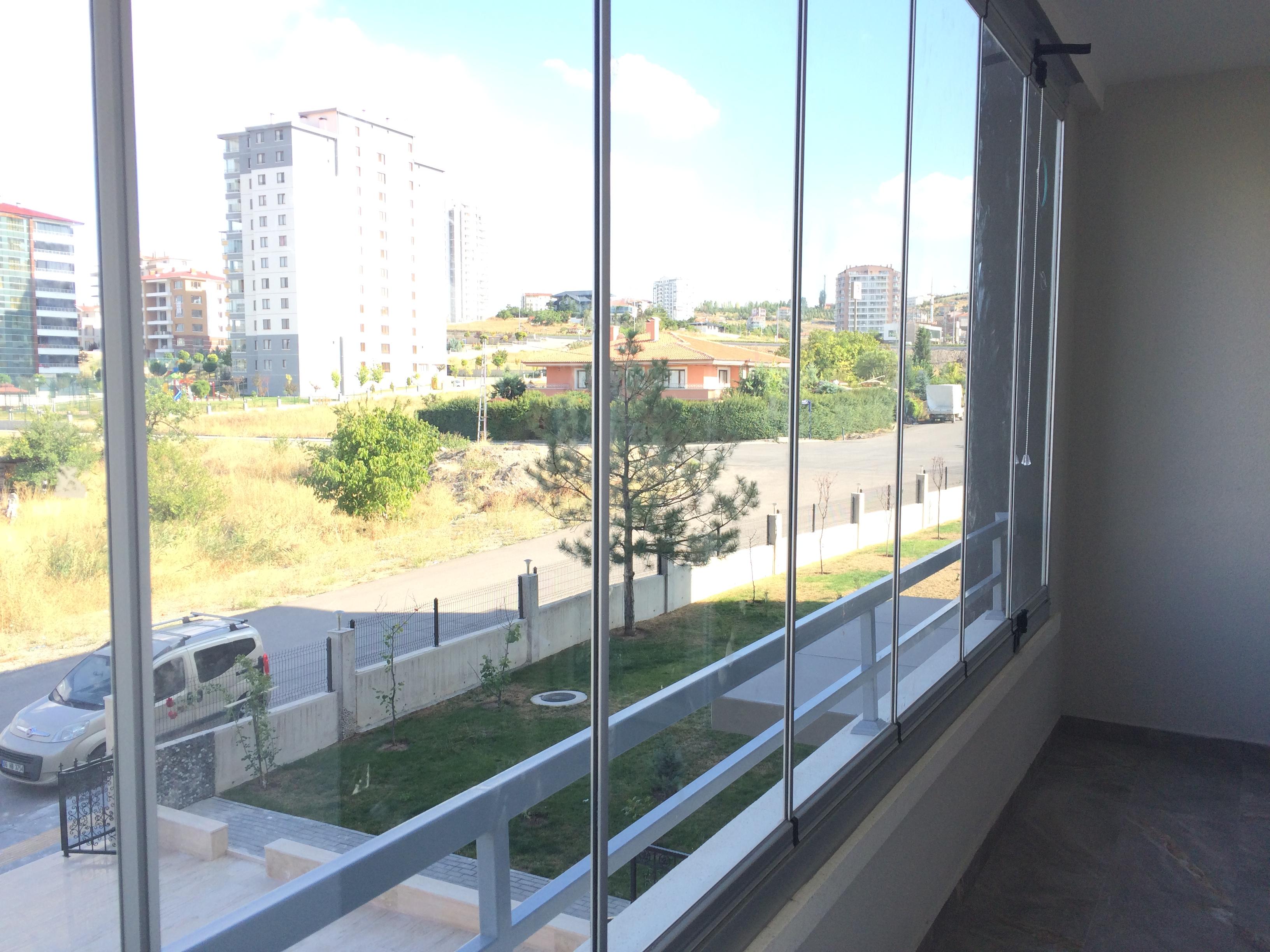çakırlar bağlıca cam Balkon Ankara gold plus yağmur oluklu